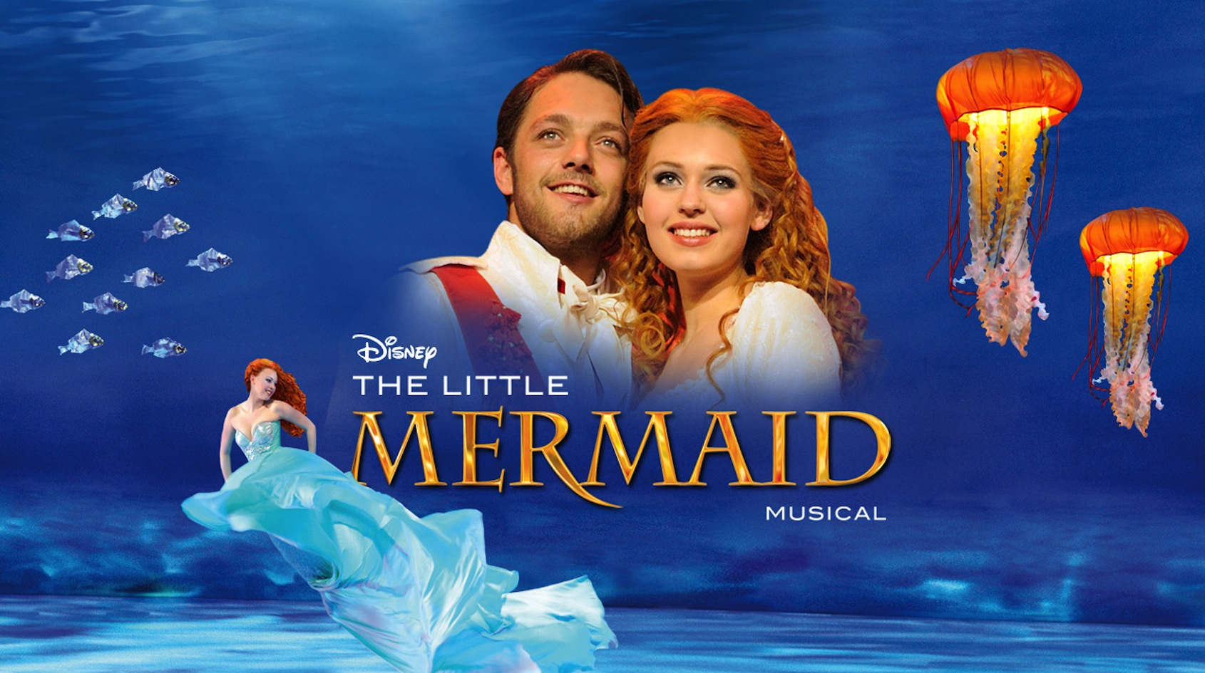yoran de bont - musical de kleine zeemeermin theather zang zanger prins erik the little mermaid