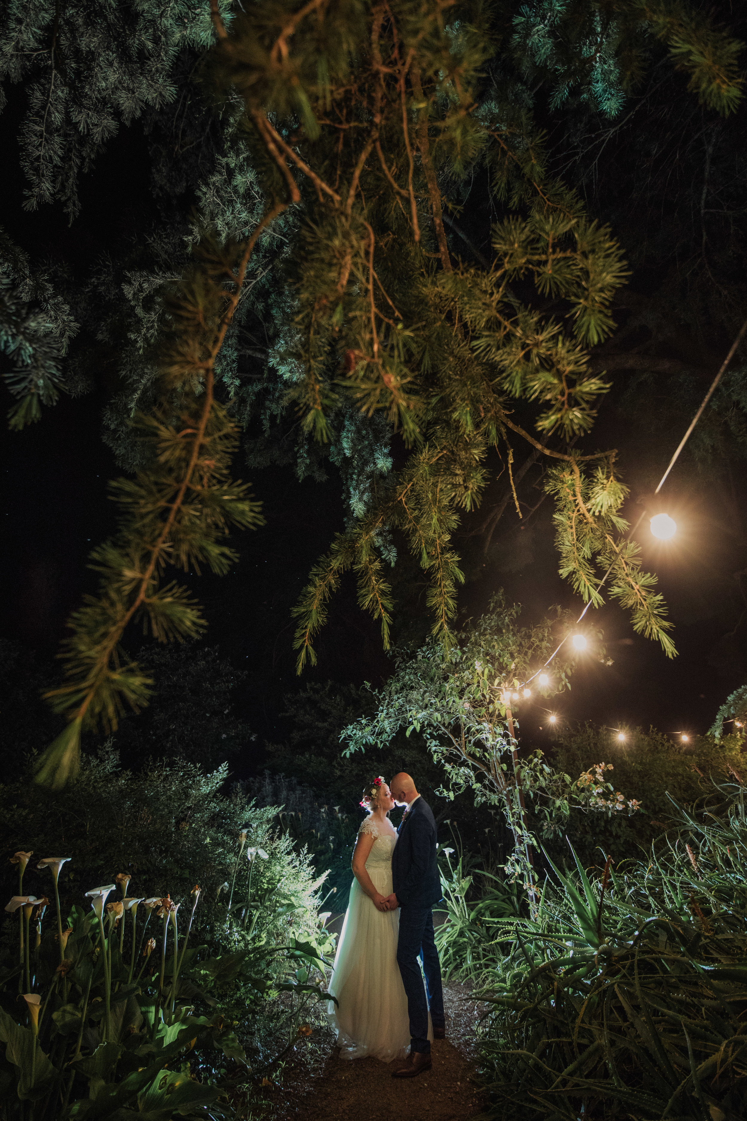 View Emelia & Garth's Country-side Indie Wedding