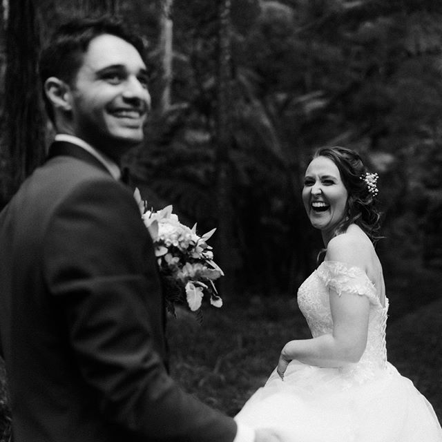 The happiest couple alive! Beautiful forest at @lyrebirdfalls {Amber & Reg} by #blwwill . . . . #melbournewedding #melbourneweddingphotography #weddinginspo #weddingday #weddingplanner #bride #bridestyle #weddinginspiration #weddingideas #engaged #instawedding #moments l
