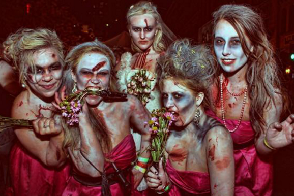 #zombiebridesmaids from costumeprize.com