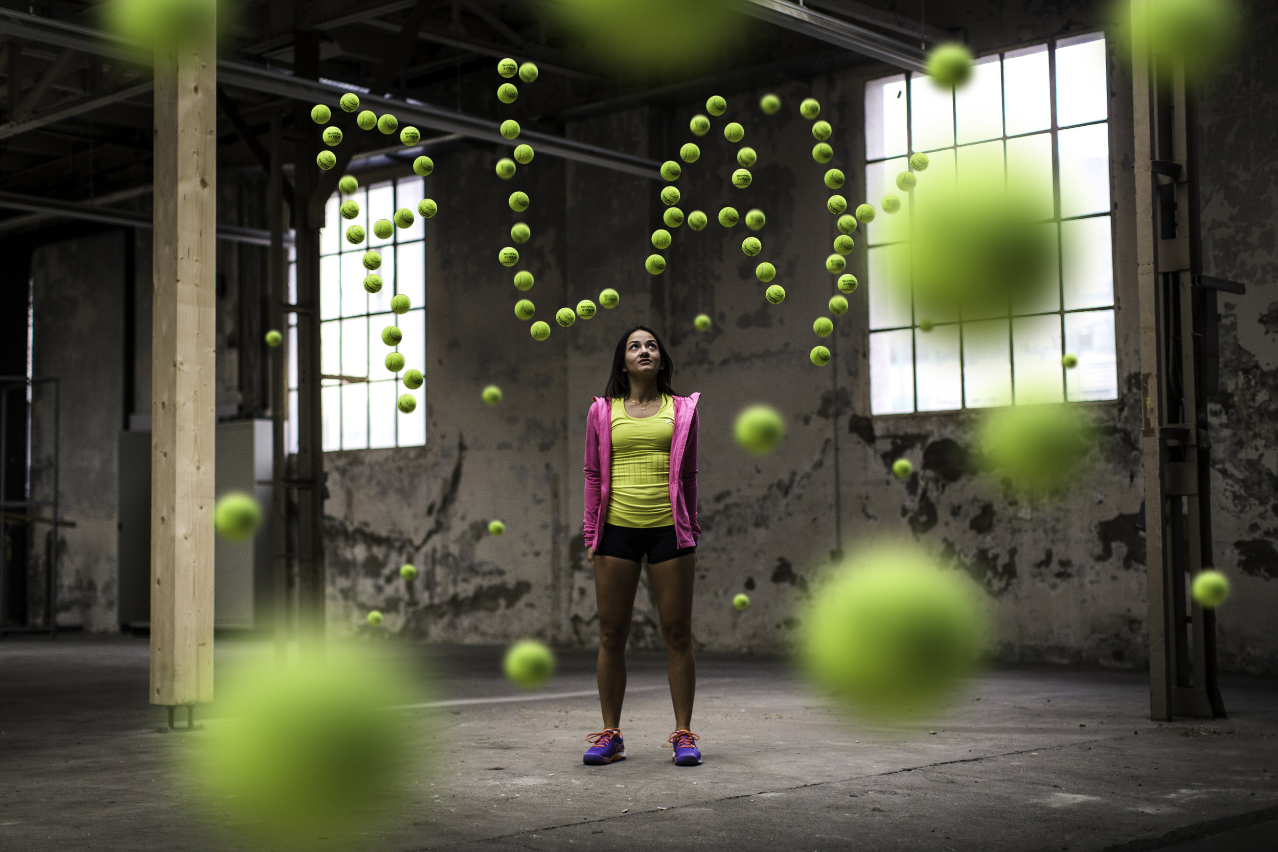 Client:  ASICS Switzerland  - Project:  PLAY TENNIS