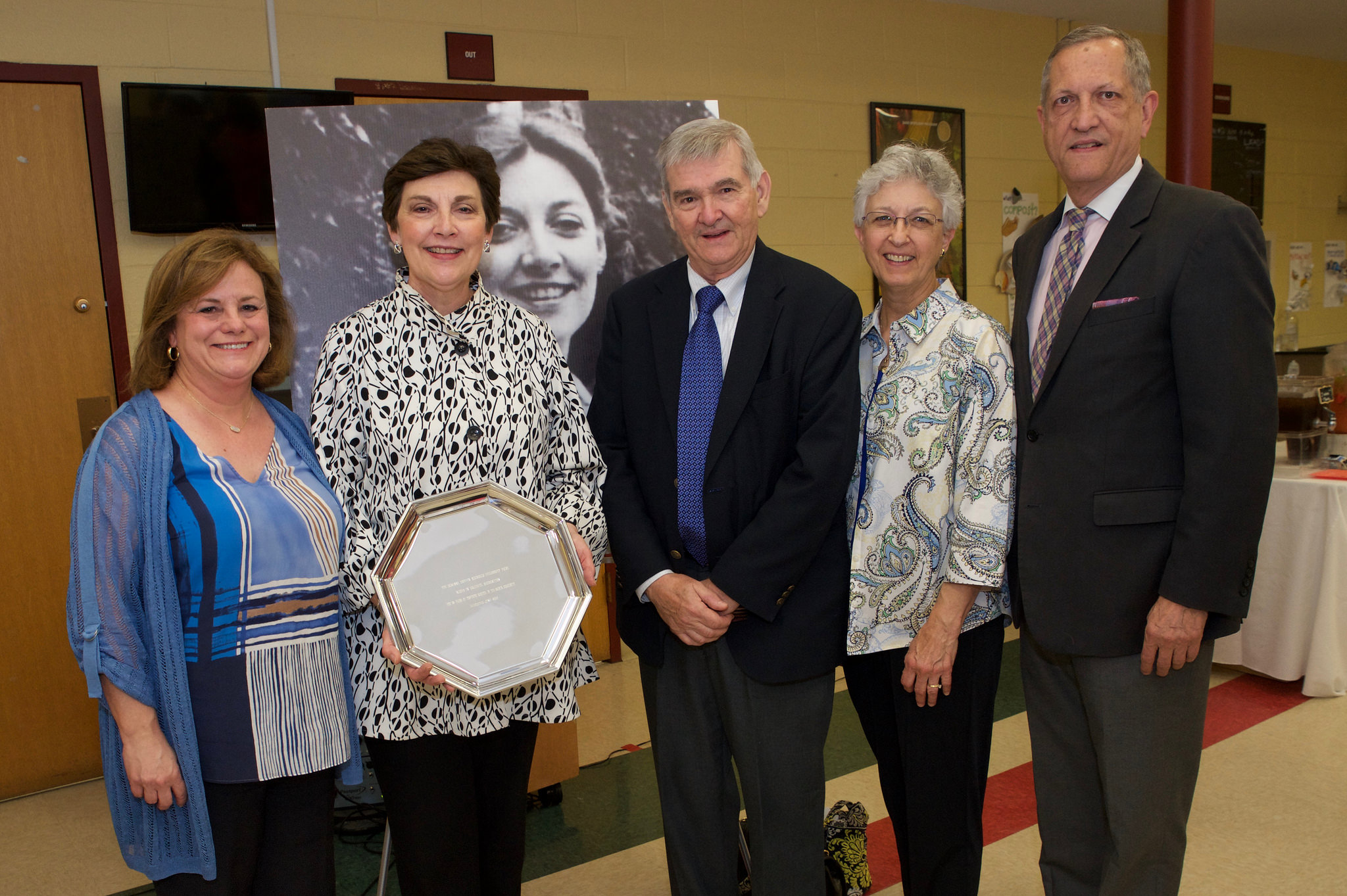 Adrienne Pakis Gillon [spouse of Bill Gillon (TN, '14)], Suzanne Nuckolls, Carl and Marilyn Shedlock, and Randy Nuckolls