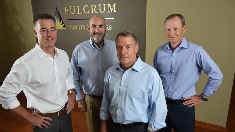 Fulcrum partners (L-R) Tom Greer, Frank Dalton, Jeff Muir, Jim Douglass.
