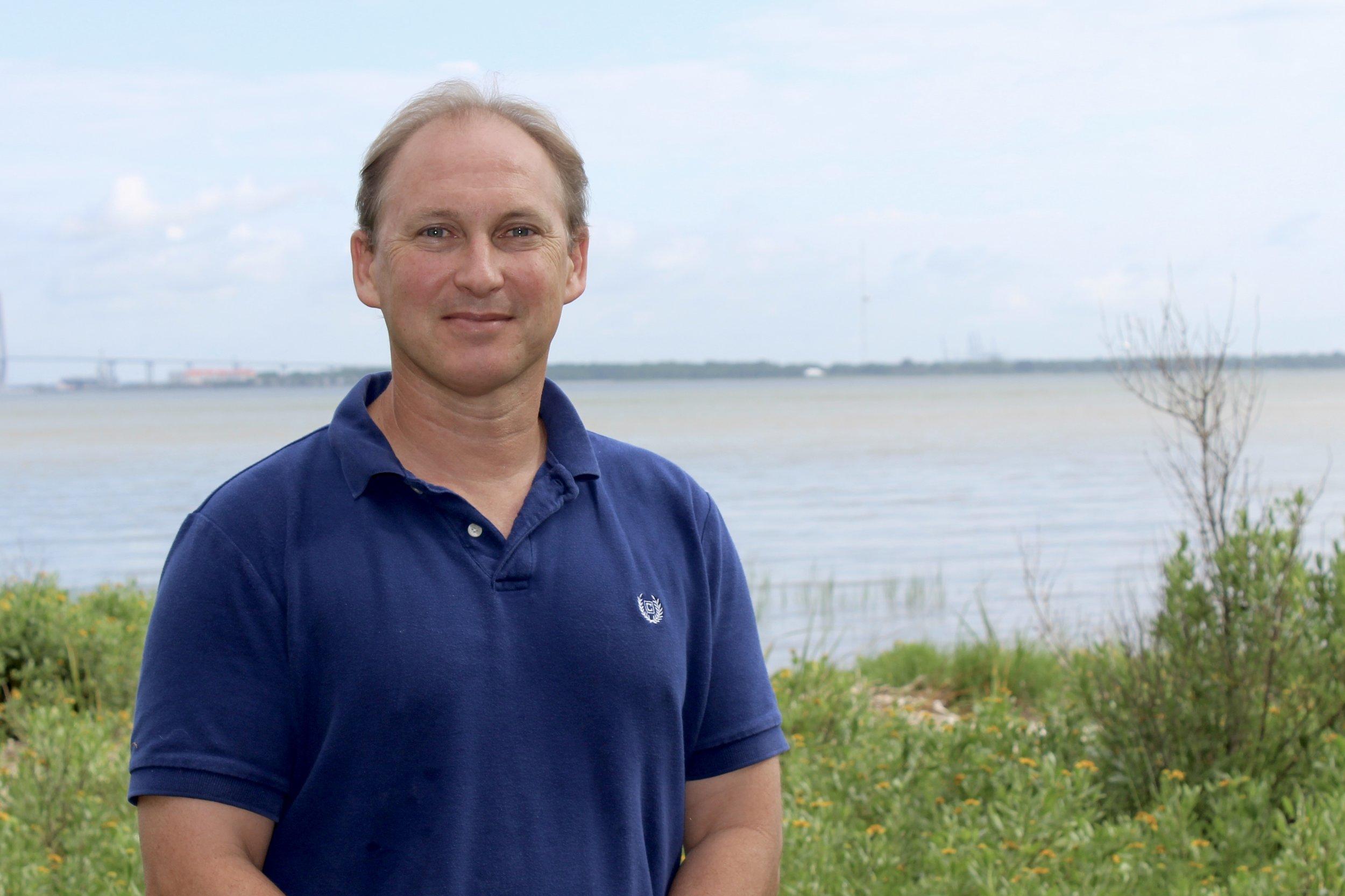 Steve Arnott's home base is SCDNR's Marine Resources Center in Charleston.(Photo: E. Weeks/SCDNR)