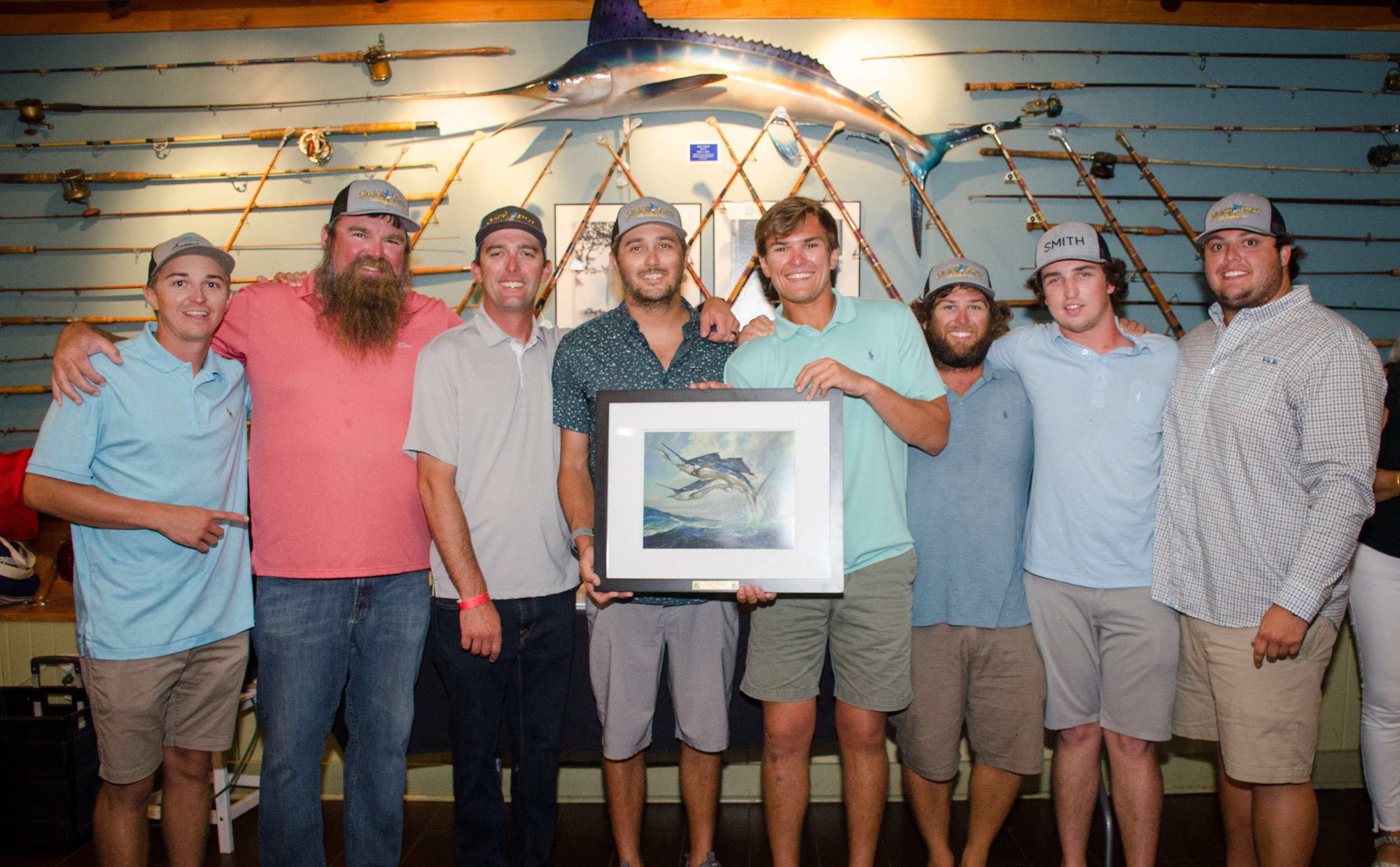 The team at the Carolina Billfish Classic