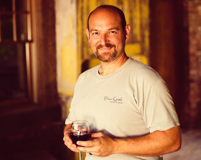 Winemaker Louis Jeroslow