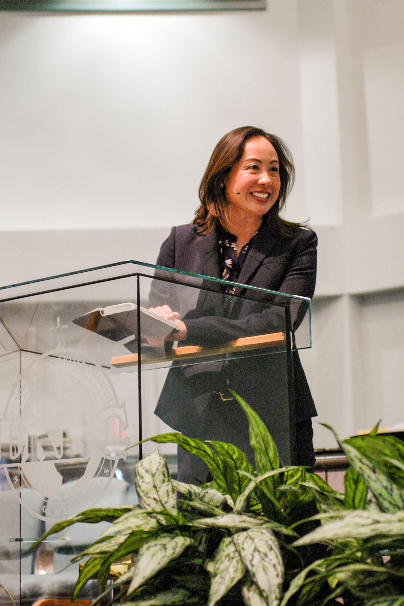 The Rev. Sharon Koh