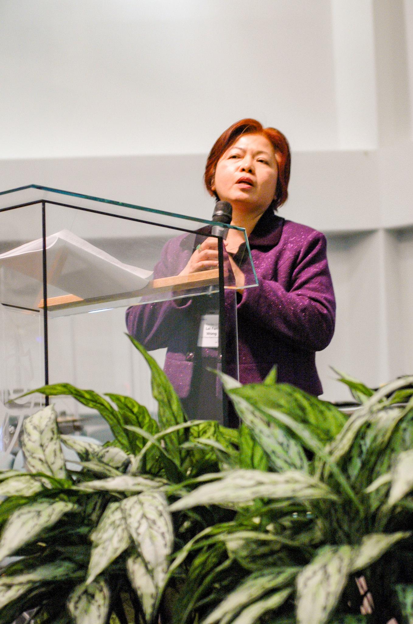 The Rev. Dr. Lai Fan Wong