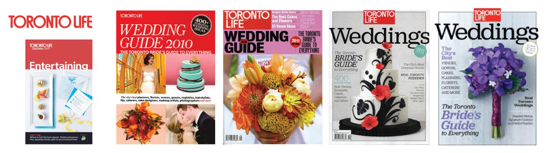 Toronto Life Wedding Guide 2006-2013