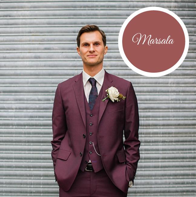 marsala-groom