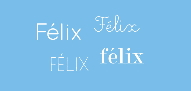 F-monograms