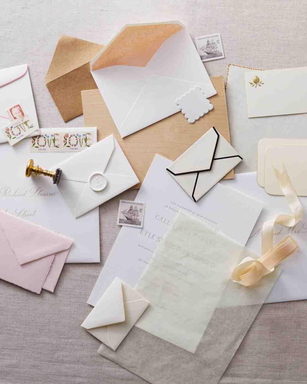 Addressing Your Wedding Invitations Carte Blanche Design