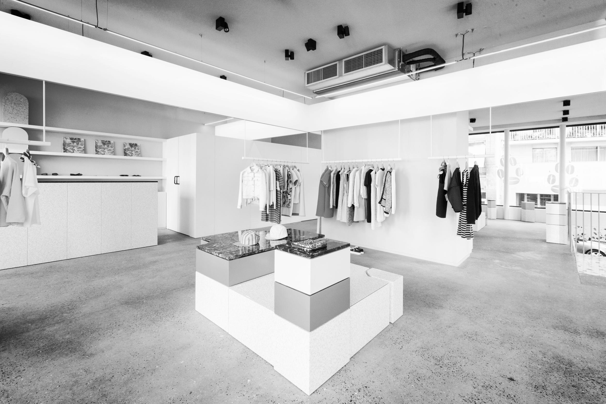 studio henry boutique kitsuné architecte