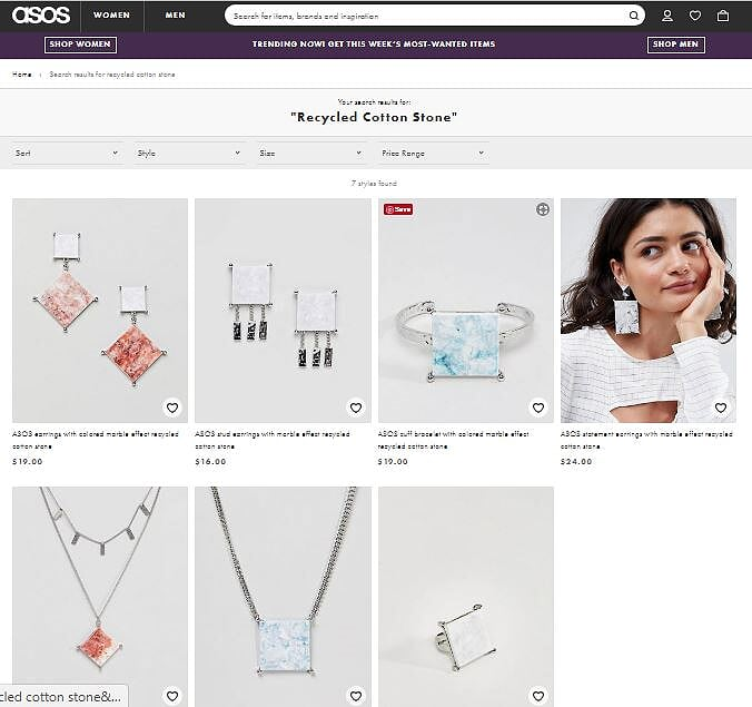 ASOS Jewelry - Marblus variations