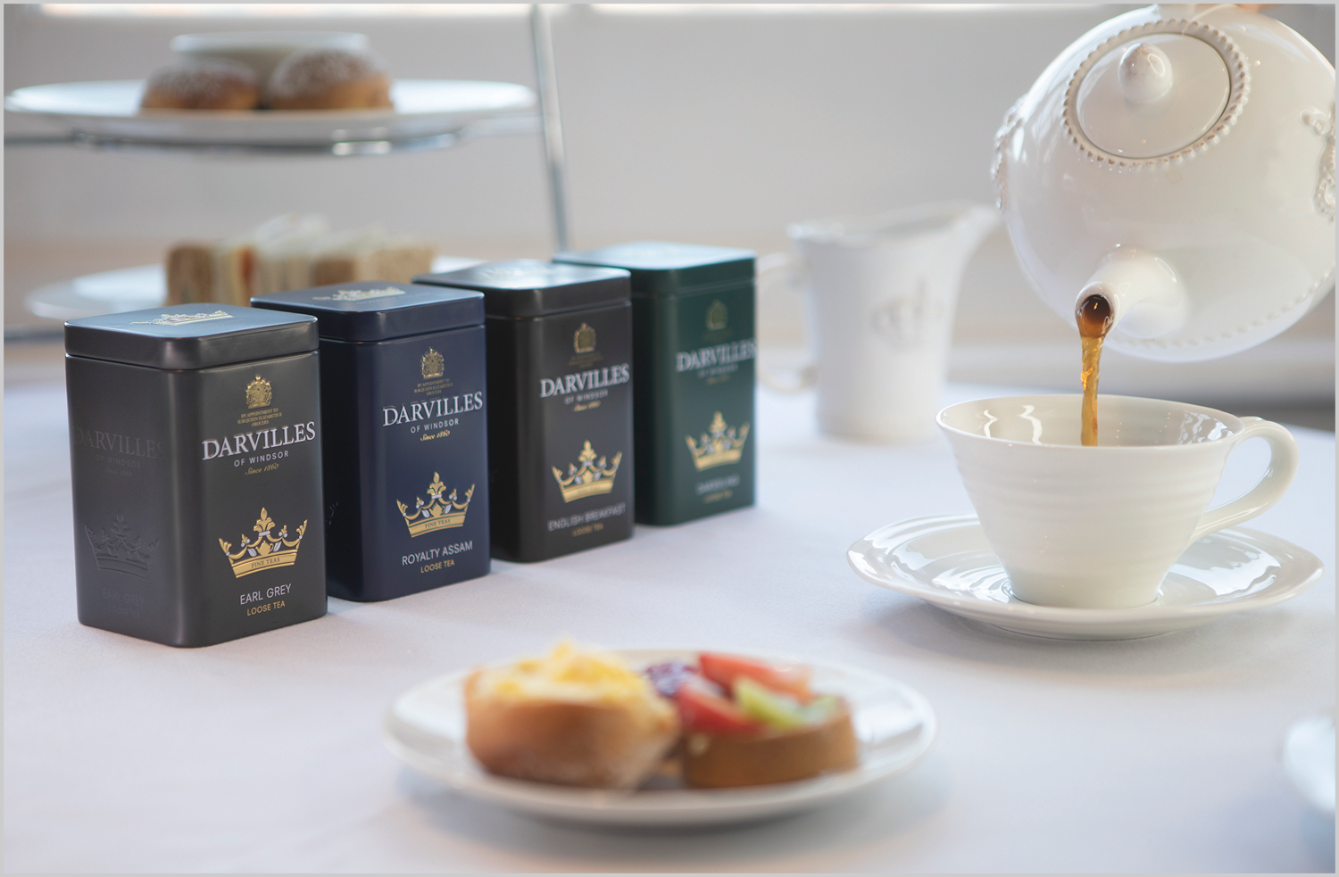 Traditional Tea - Loose Leaf - Our range of Traditional Teas are available in loose leaf as part of our stunning collectable caddy range.