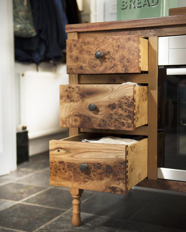 Three drawers in kichen cabinet.jpg