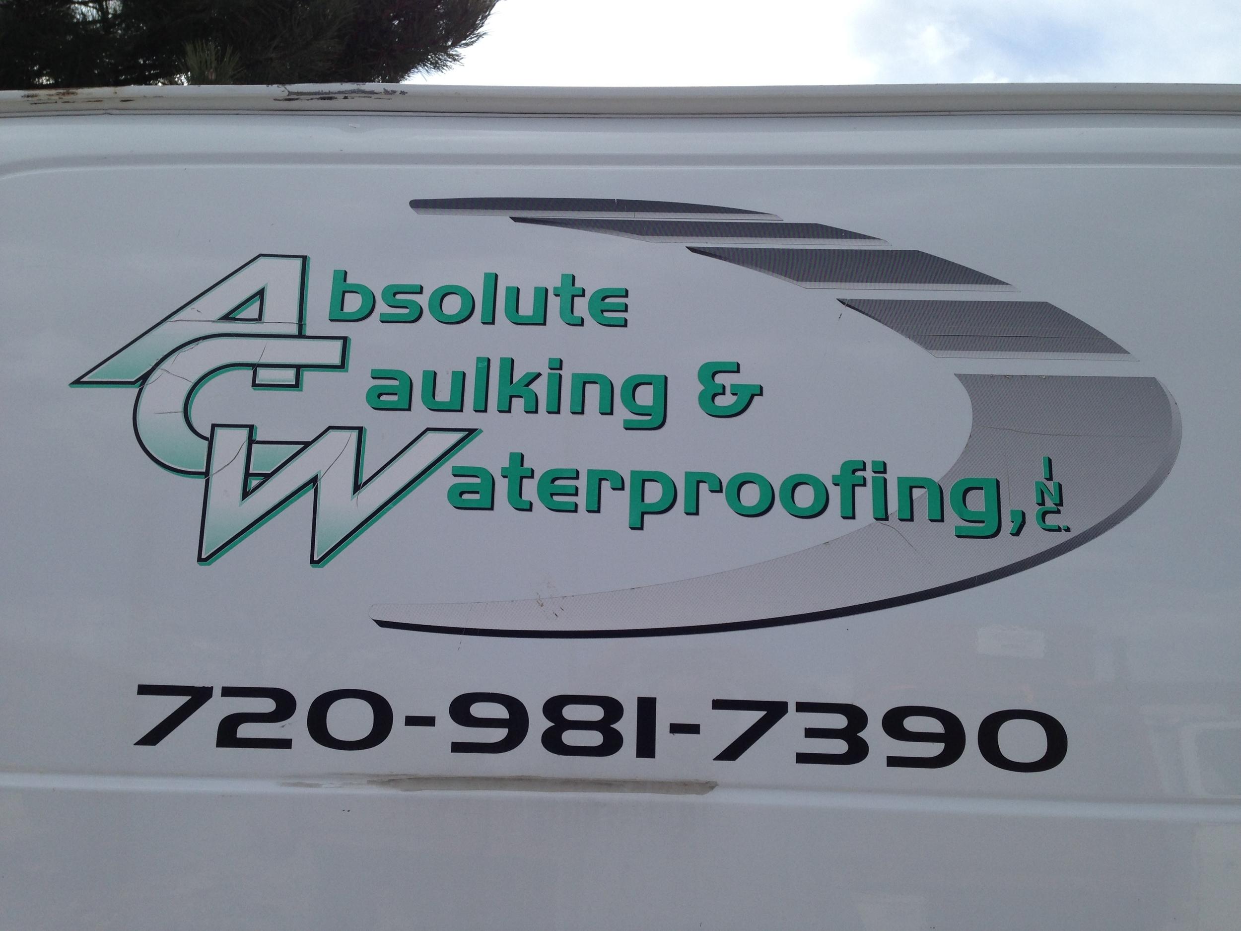 AbsoluteCaulking&Waterproofing - Van Side.jpg