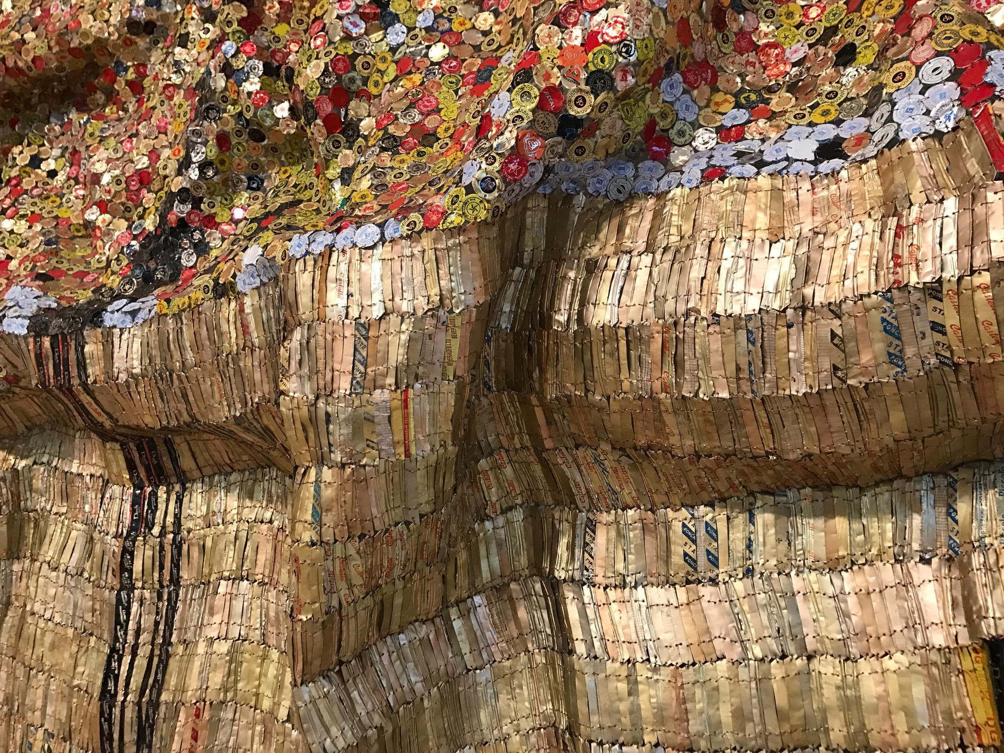 "Detail of ""Black River"" (2009)"