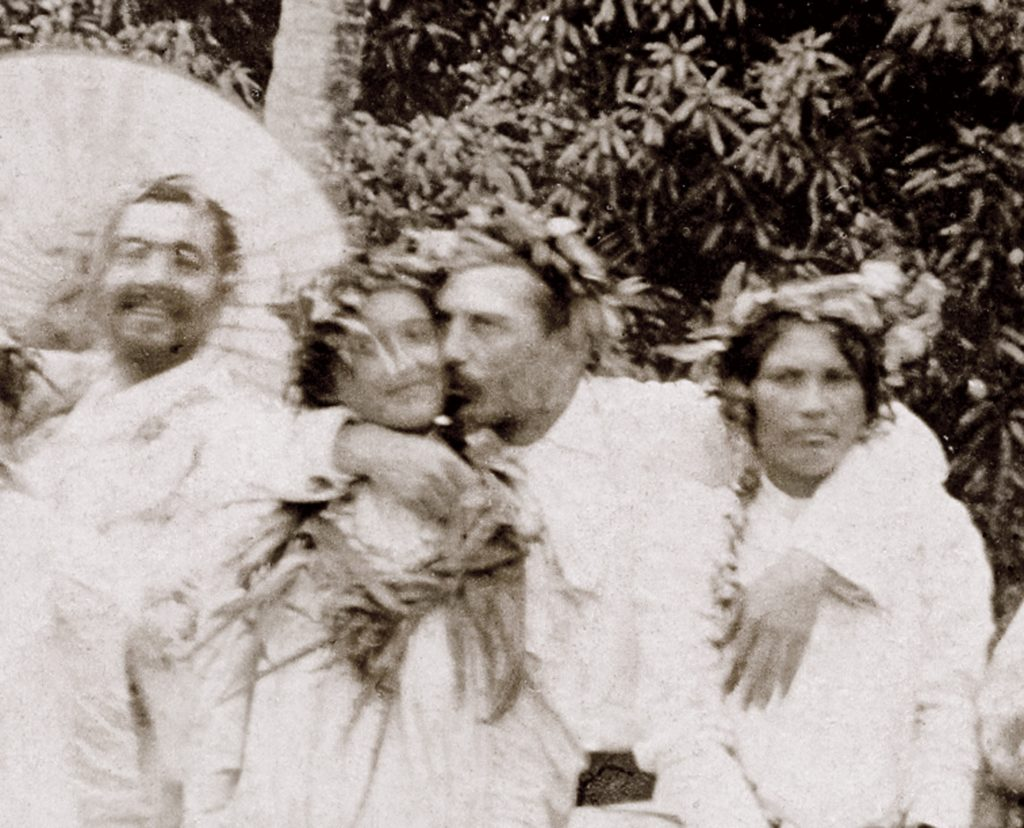 Gauguin and, possibly, some Tahitian muses.