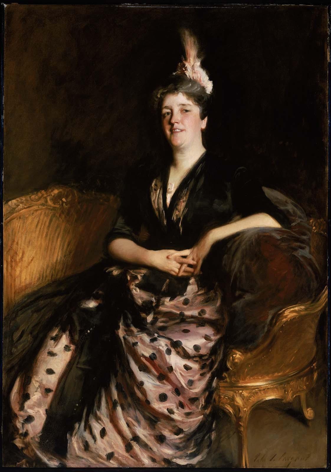 """Sargent, """"Mrs. Edward Darley Boit (Mary Louisa Cushing)"""" (1887)"""