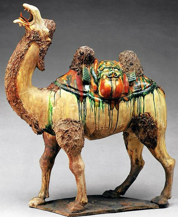 Bactrian Camel, Tang Dynasty (7th-10th c. CE)