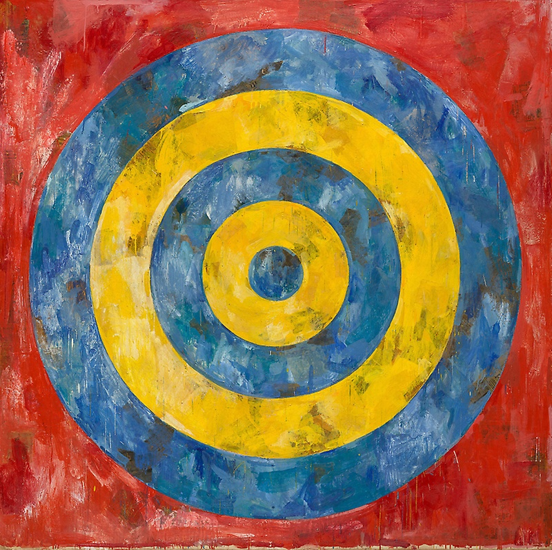 """Jasper Johns, """"Target"""" (1961)"""