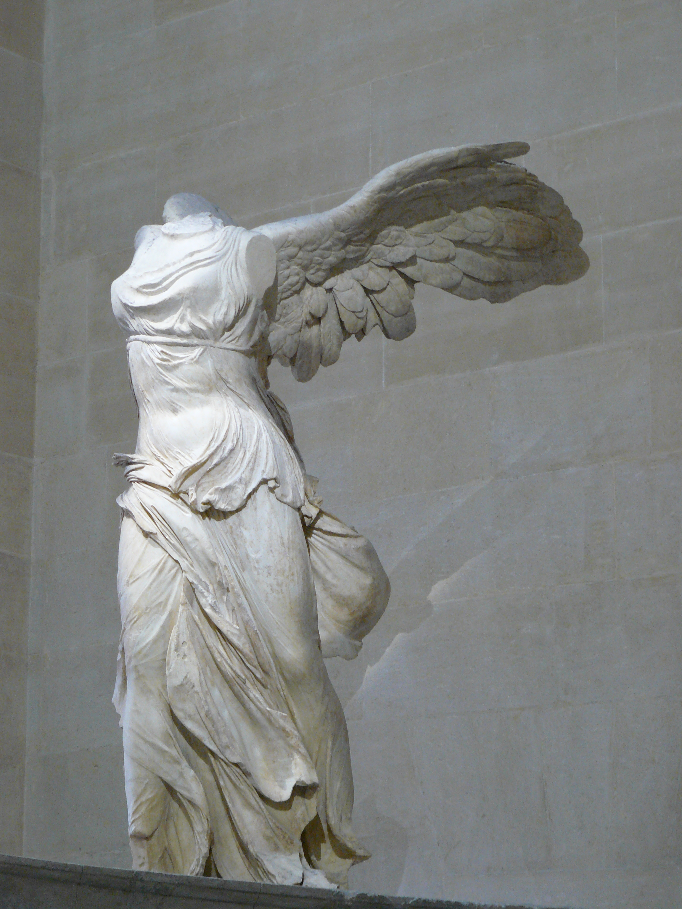 The Winged Victory of Samothrace (Hellenistic, 200 BCE)