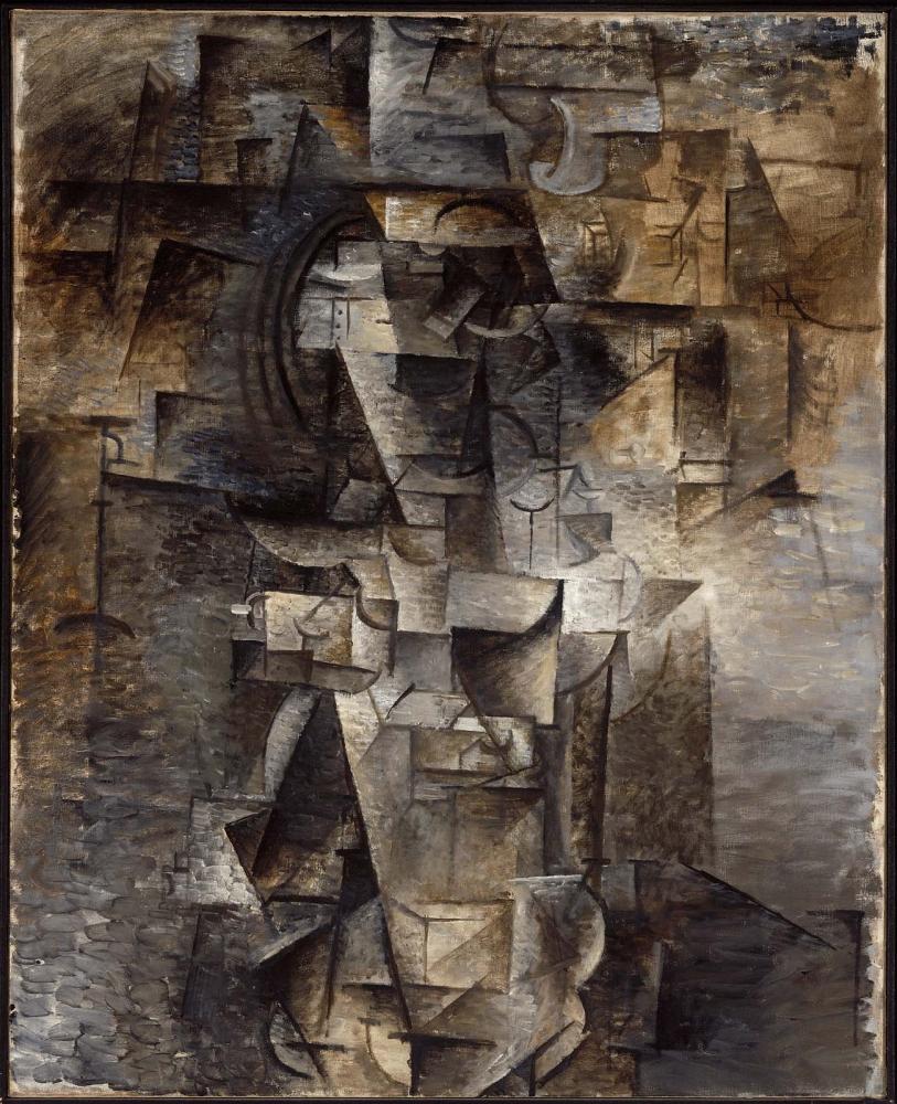 """Pablo Picasso, """"Portrait of a Woman"""" (1910)"""