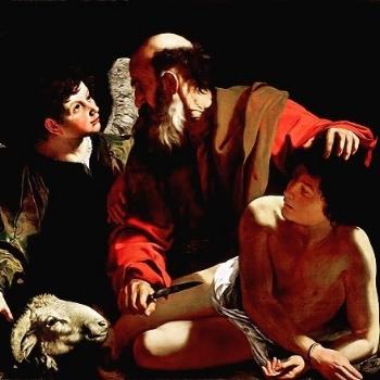 "Caravaggio, ""The Sacrifice of Isaac"" (c. 1598)"