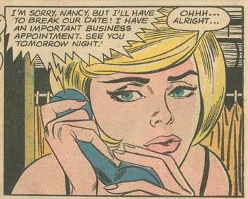 Ohhh...Alright...'s source: Secret Hearts #88, June 1963
