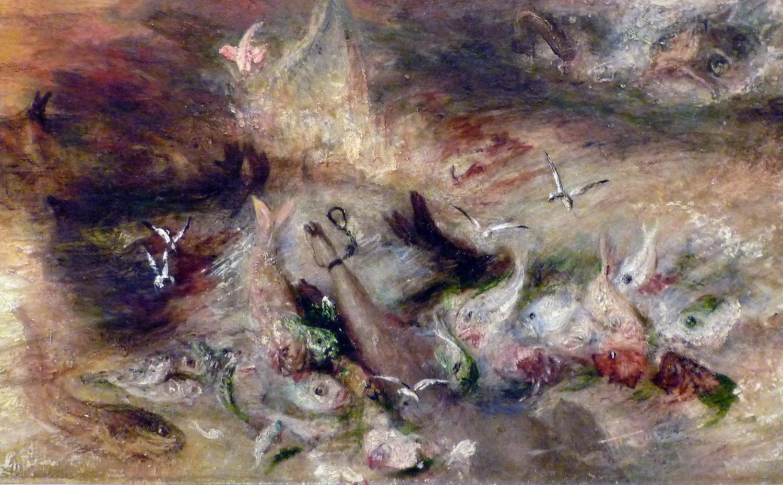 "Turner, ""The Slave Ship"" (detail)"