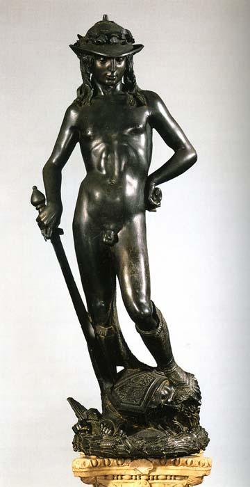 """Donatello, """"David"""" (1430-1440)"""