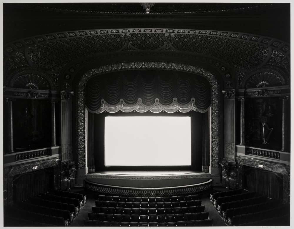 "Hiroshi Sugumoto, ""Byrd Theater, Richmond, 1993"" (1993)"