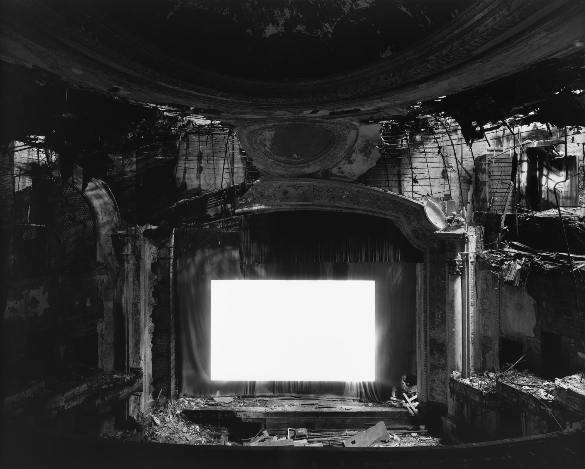 """Hiroshi Sugimoto, """"Paramount Theater in Newark, New Jersey"""" (c. 2000)"""