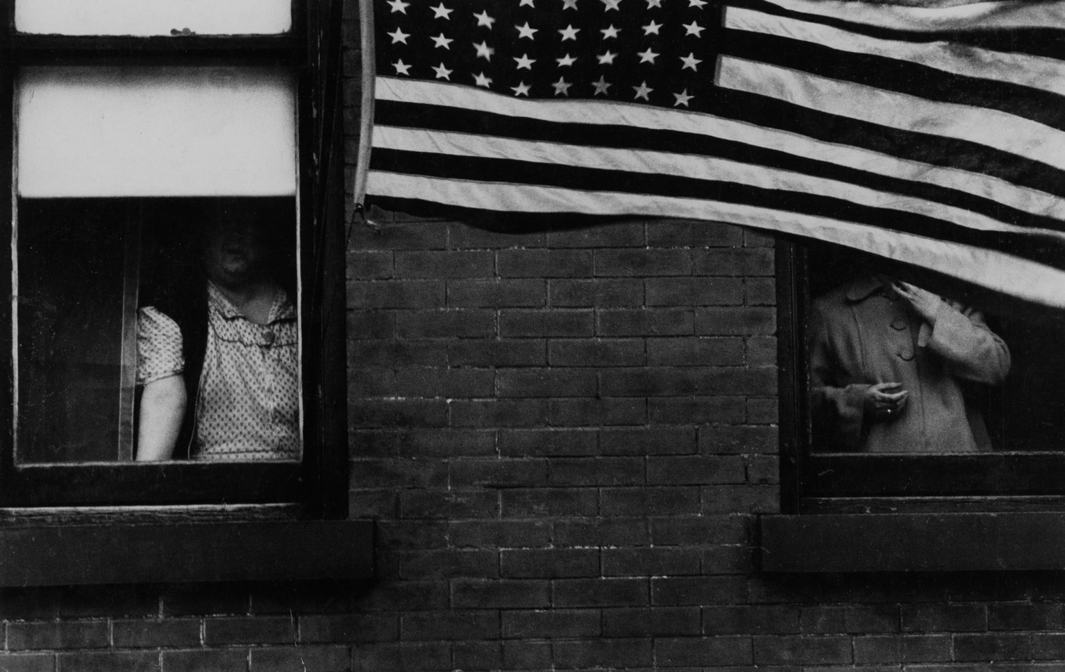 Robert Frank, Parade—Hoboken, New Jersey, (1955)