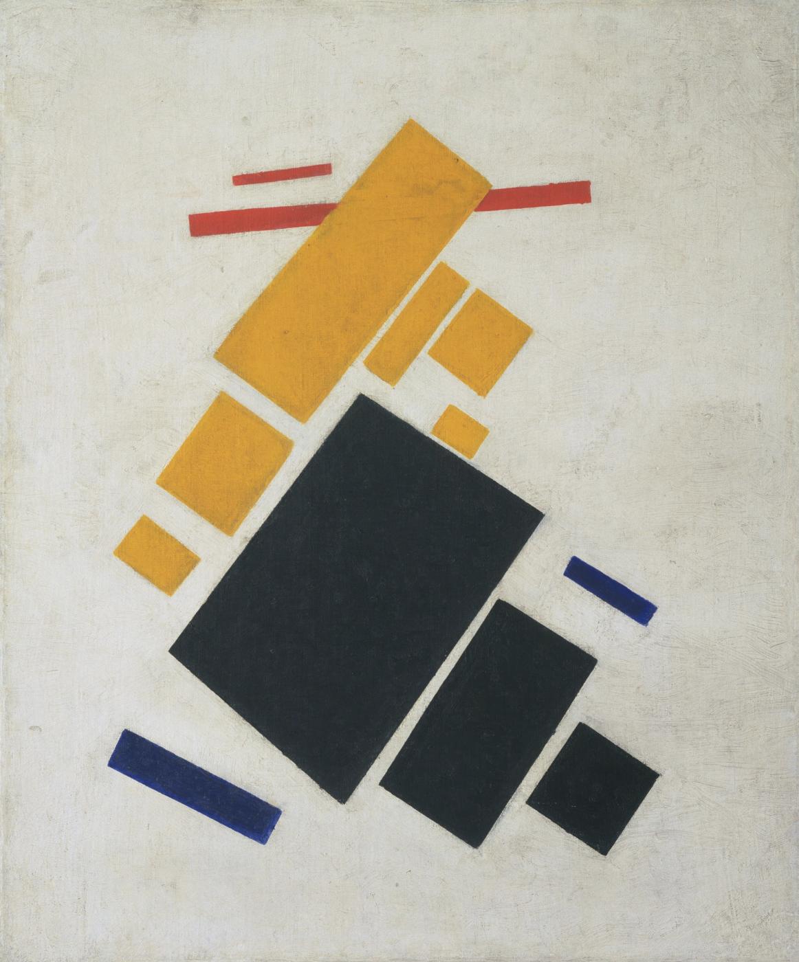 """Kazimir Malevich, """"Suprematist Composition"""" (1915)"""