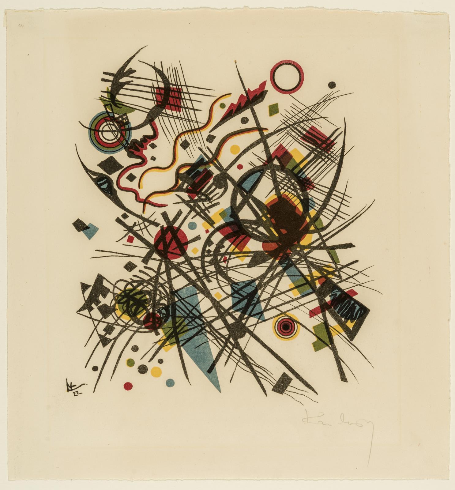"Wassily Kandinsky, ""Untitled"" (1922)"