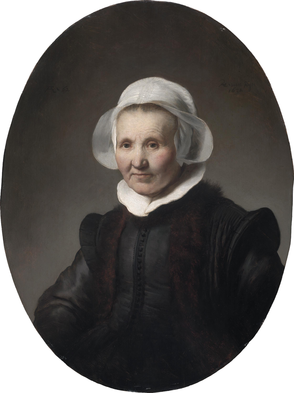 """Rembrandt van Rijn, """"Portrait of Aeltje Uylenburgh"""" (1632)"""