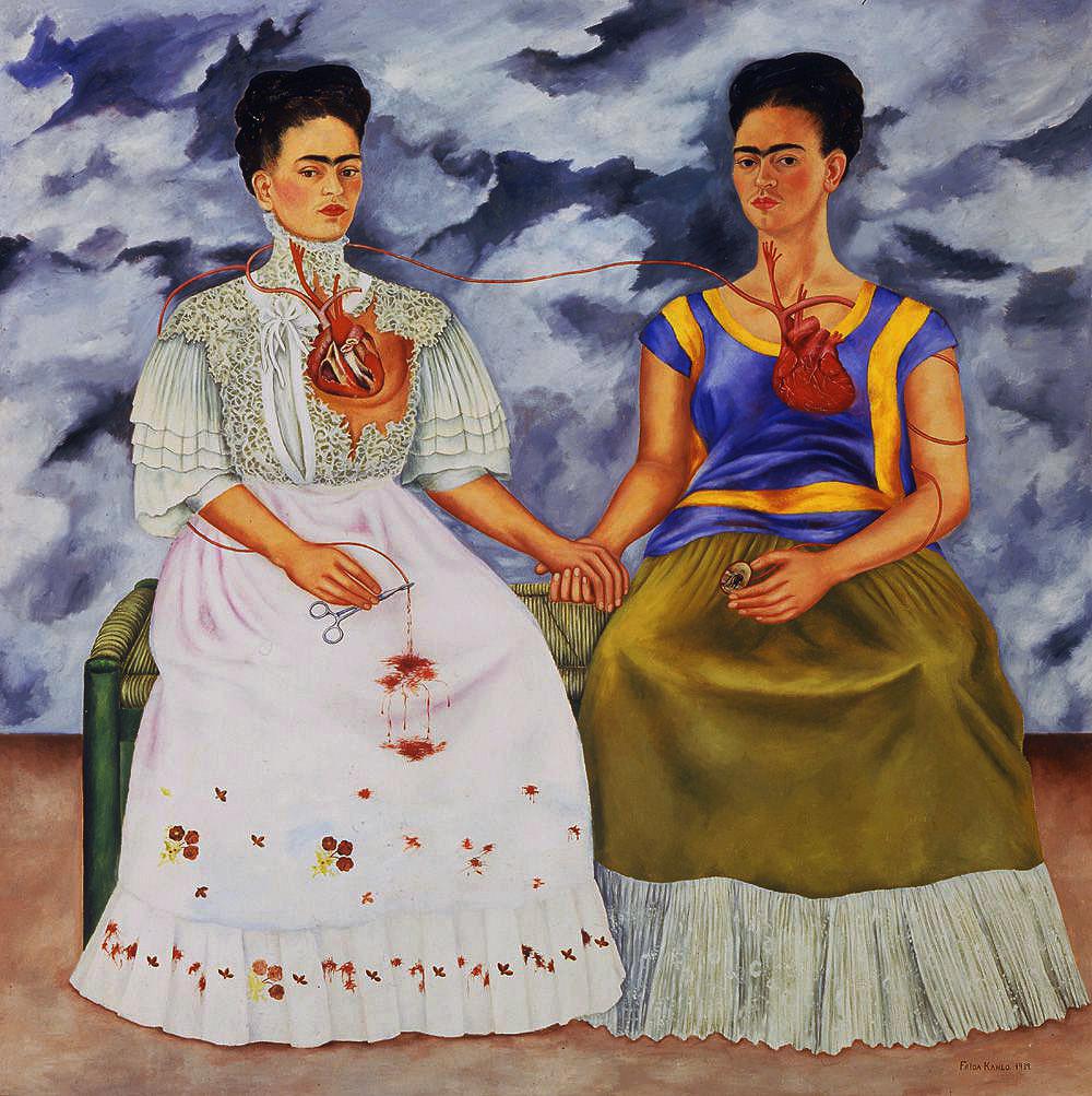 """Frida Kahlo, """"The Two Fridas"""" (1939)"""