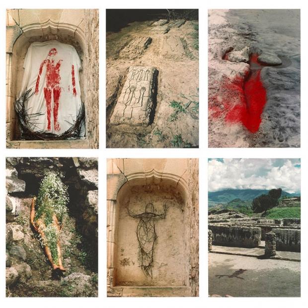 """Ana Mendieta, """"Silueta Series"""" (1973-78)"""