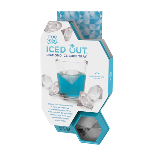 Overview:  Makes 6 easy-to-remove cubes  Dishwasher and oven safe silicone  Also great for making diamond shaped chocolates, jello shots, crayons, and more!