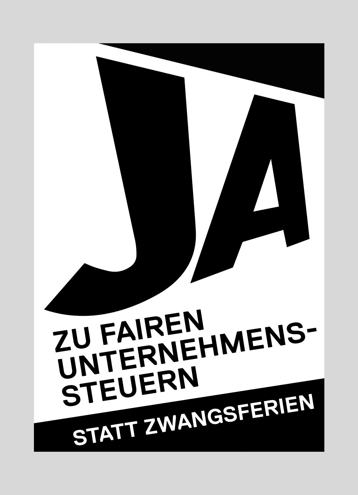 SP Kanton Luzern – Faire Unternehmenssteuern | 2016  Volksinitiative der SP Kanton Luzern zur Erhöhung der Unternehmenssteuer.