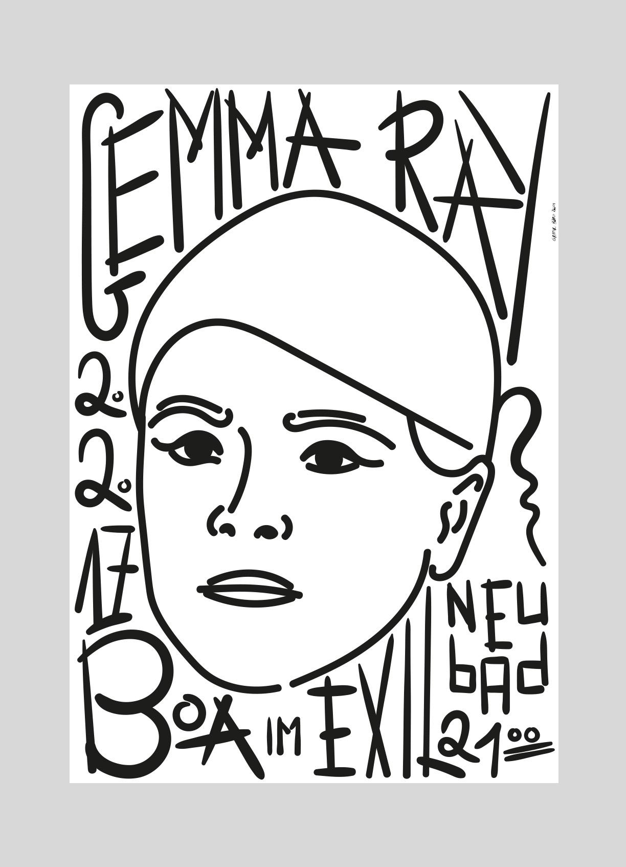 Neubad – Gemma Ray [UK]   2017   Düster, mystisch, packend - das ist die Musik der Britischen Songwriterin Gemma Ray.