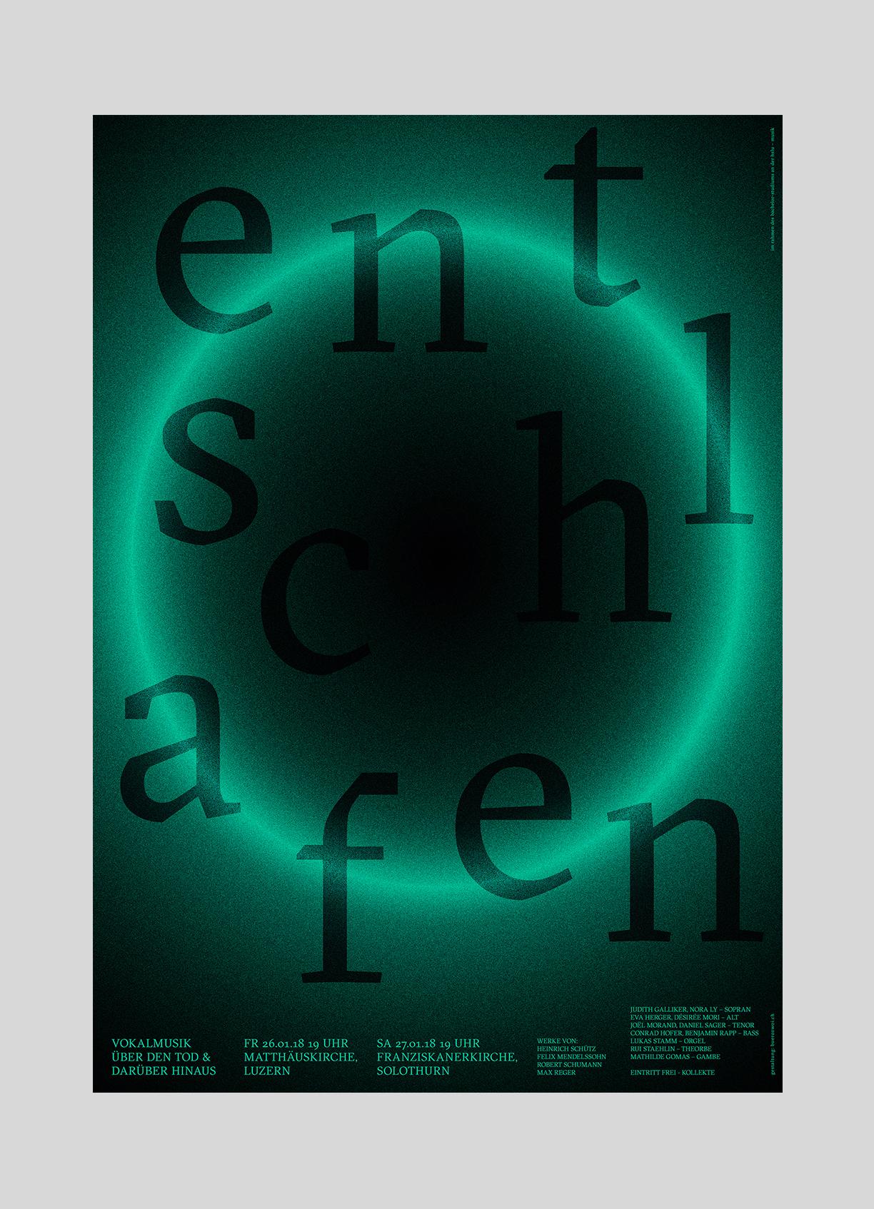 Nora Ly – entschlafen   2017  Bachelor Abschlusskonzert in der Matthäuskirche Luzern.