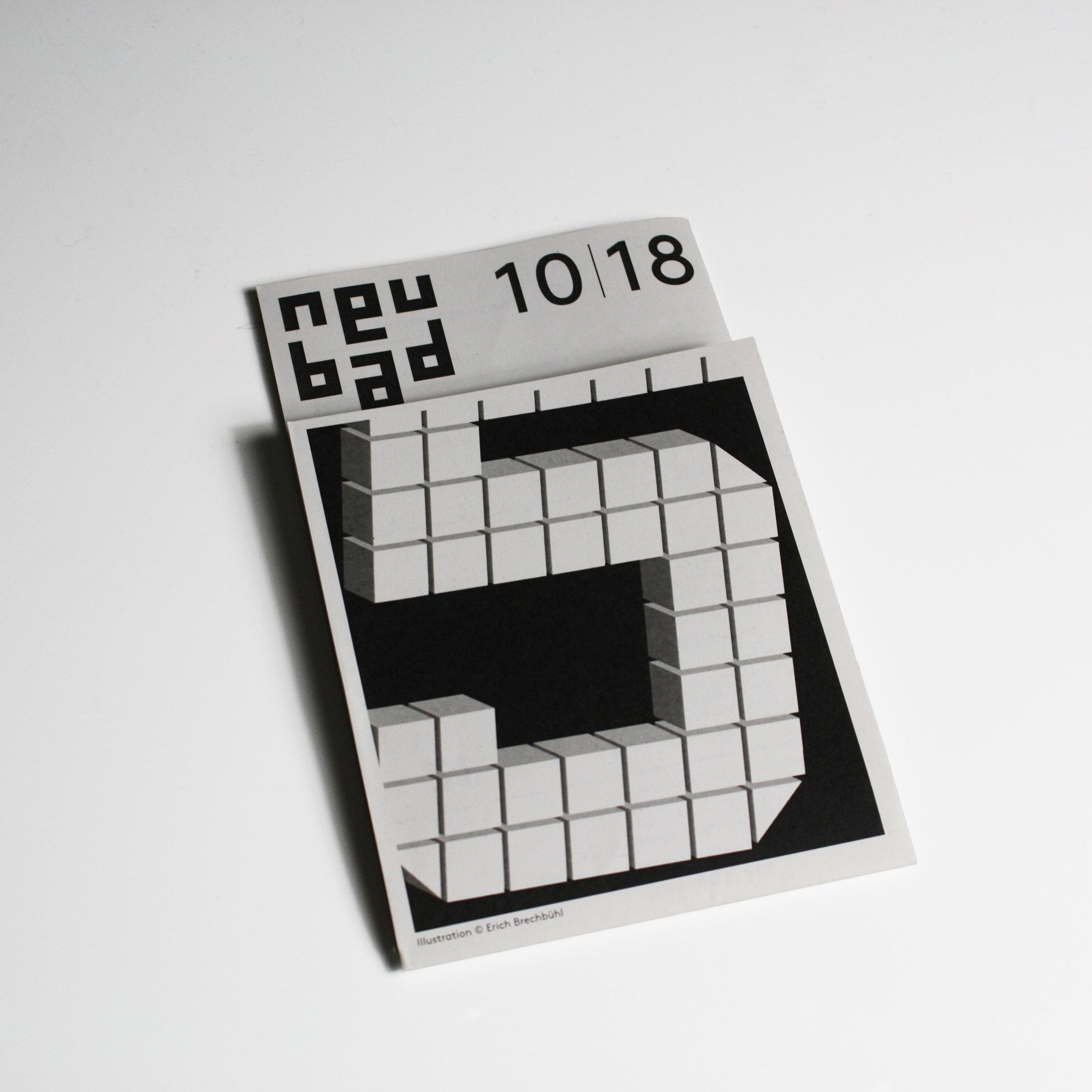 Neubad – Monatsprogramm | 2018