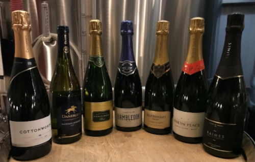 The magnificent seven - Hampshire's superb English Sparkling Wines.