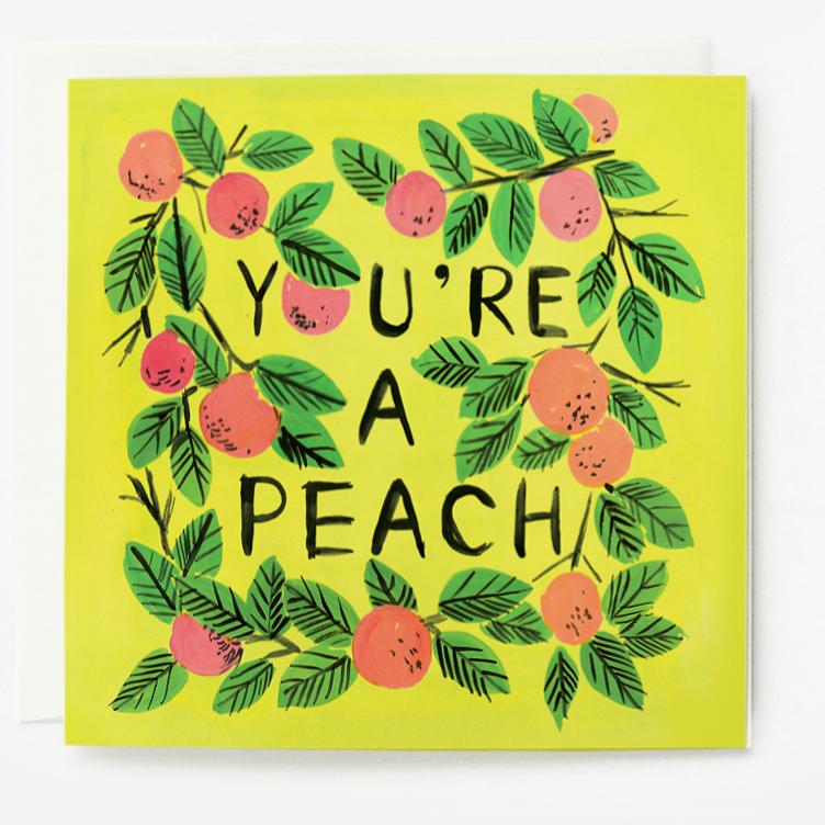 You're a Peach Thank You