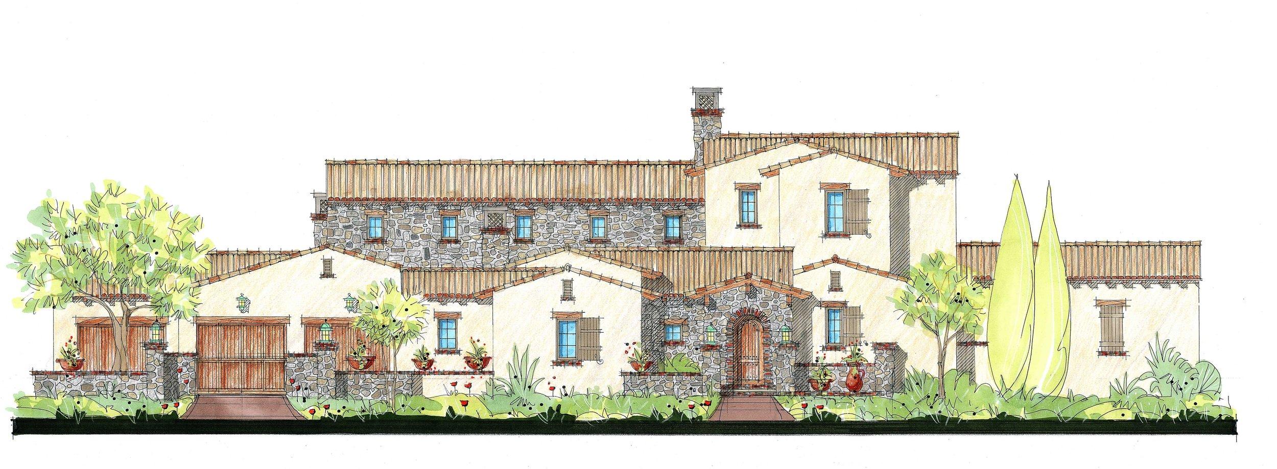 Villa Paradiso 5 bed | 5 & 2- 1/2 bath | 4 car garage 6,961 sq. ft.