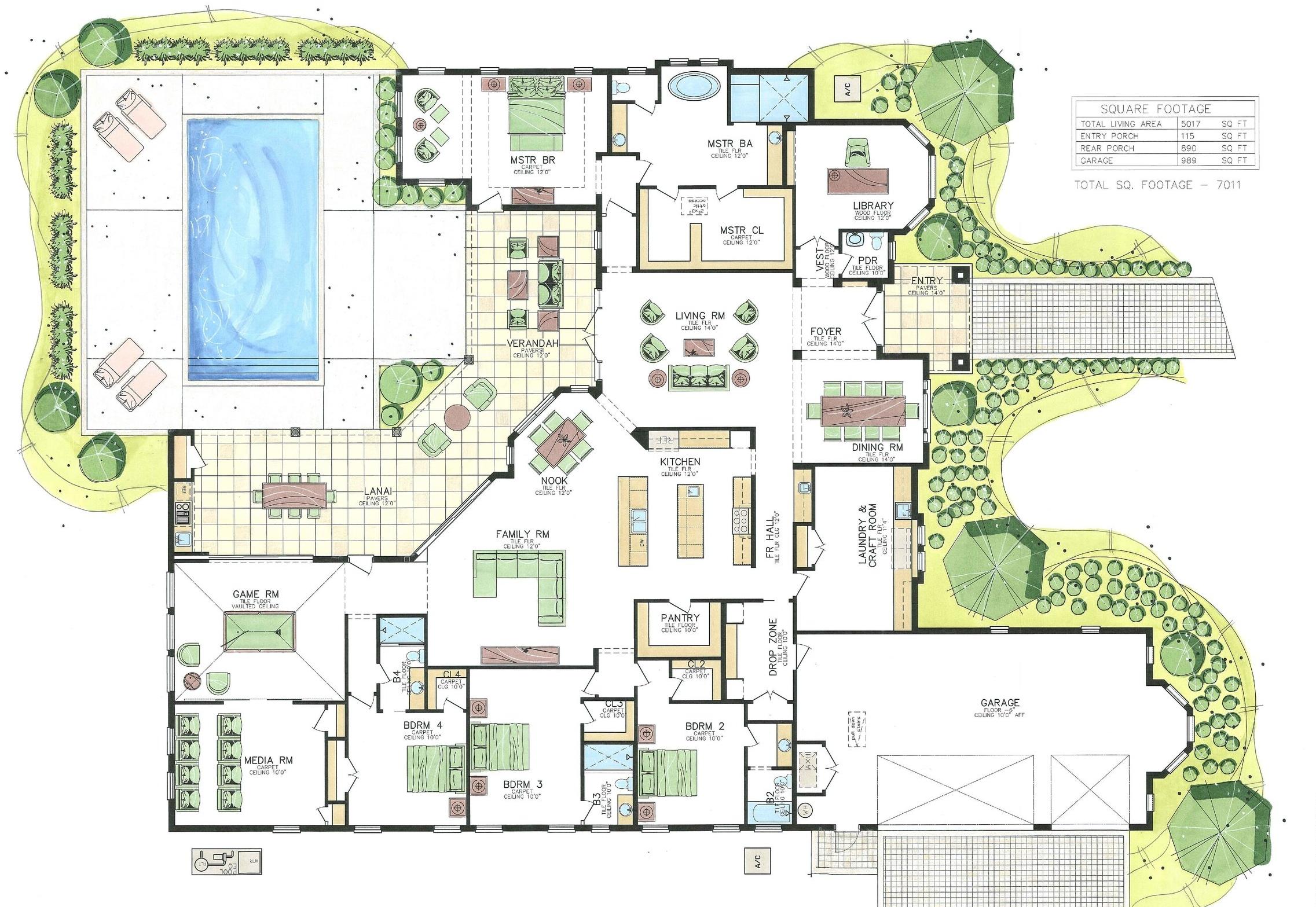 Lot 156 Floorplan