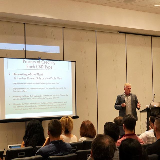 Our ringleader & CEO, James R. Ott, speaking to a packed house at CBD Expo West! #knowyourcbdsource #cfhltd #cbdexpo #cbdexpowest